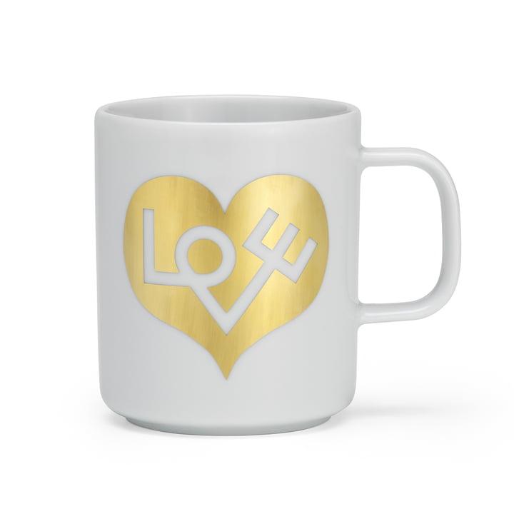 Coffee Mug Love Heart von Vitra in gold