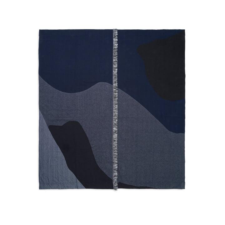 Vista Tagesdecke 140 x 180 cm von ferm Living in dunkelblau