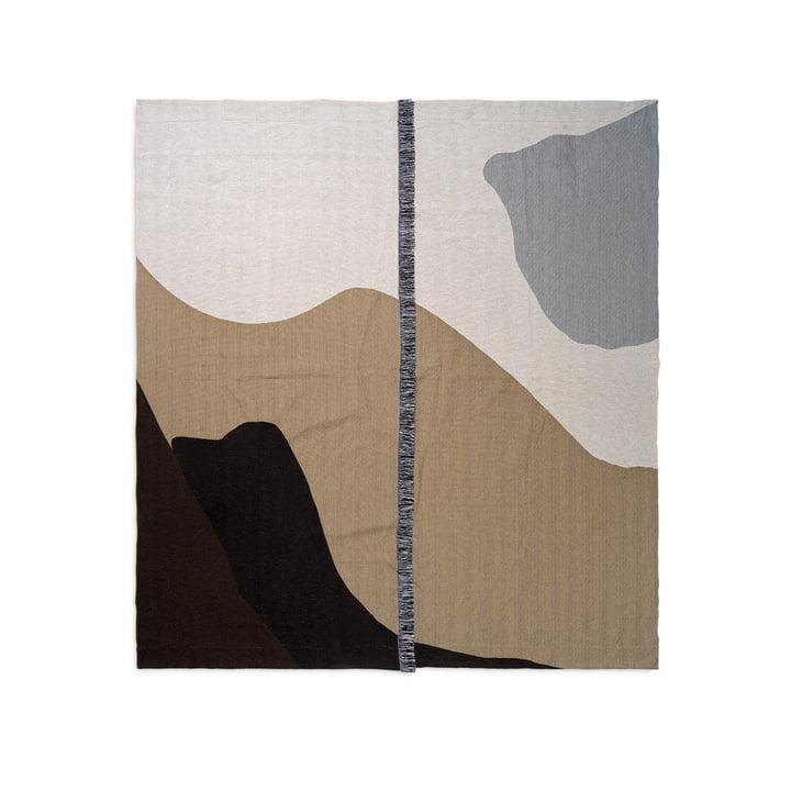 Vista Tagesdecke 240 x 250 cm von ferm Living in sand