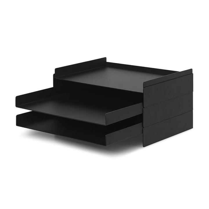 2 x 2 Organizer von ferm Living in schwarz