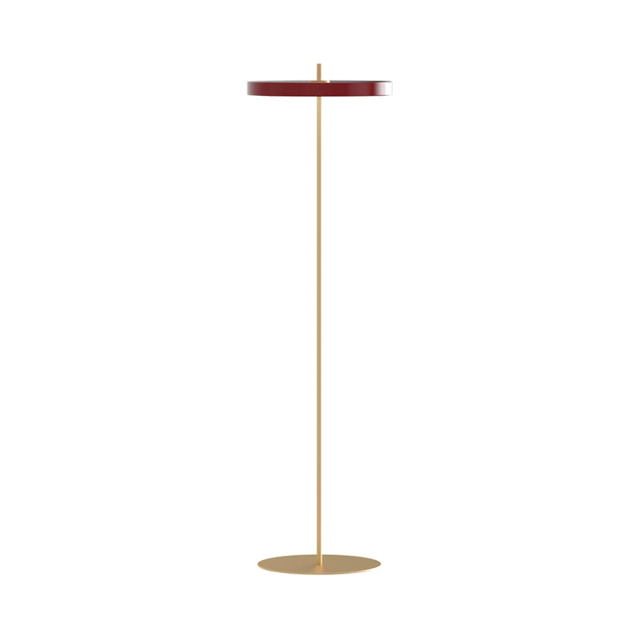 Asteria LED-Stehleuchte, Ø 43 x H 150,7 cm, ruby red von Umage