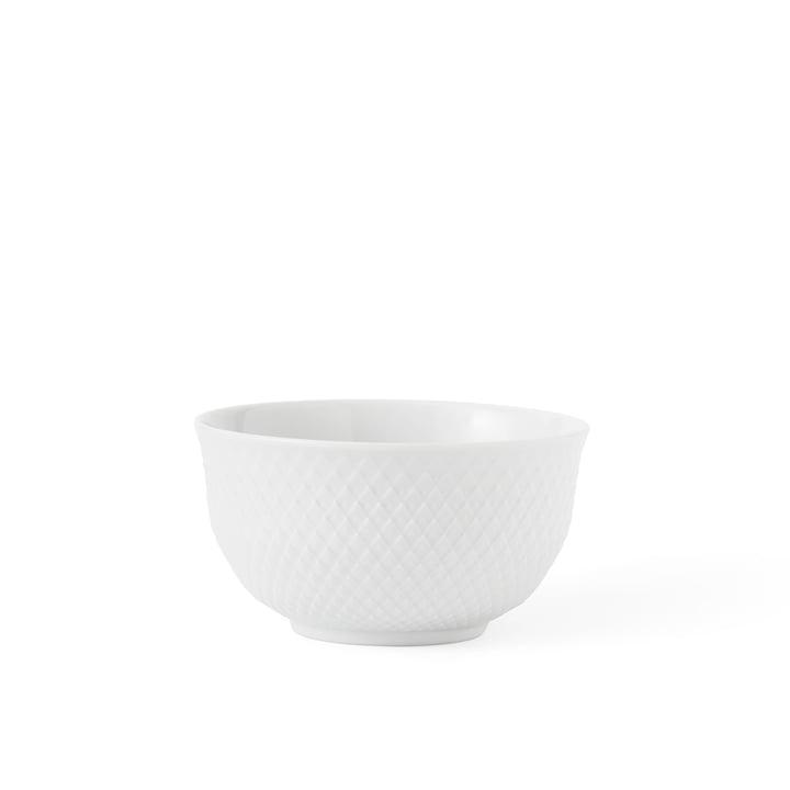 Rhombe Schale 35 cl von Lyngby Porcelæn in weiß