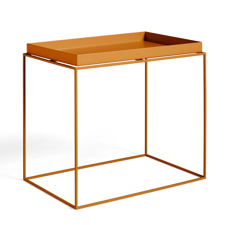 Tray Table 60 x 40 cm von Hay in toffee