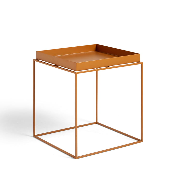 Tray Table 40 x 40 cm von Hay in toffee