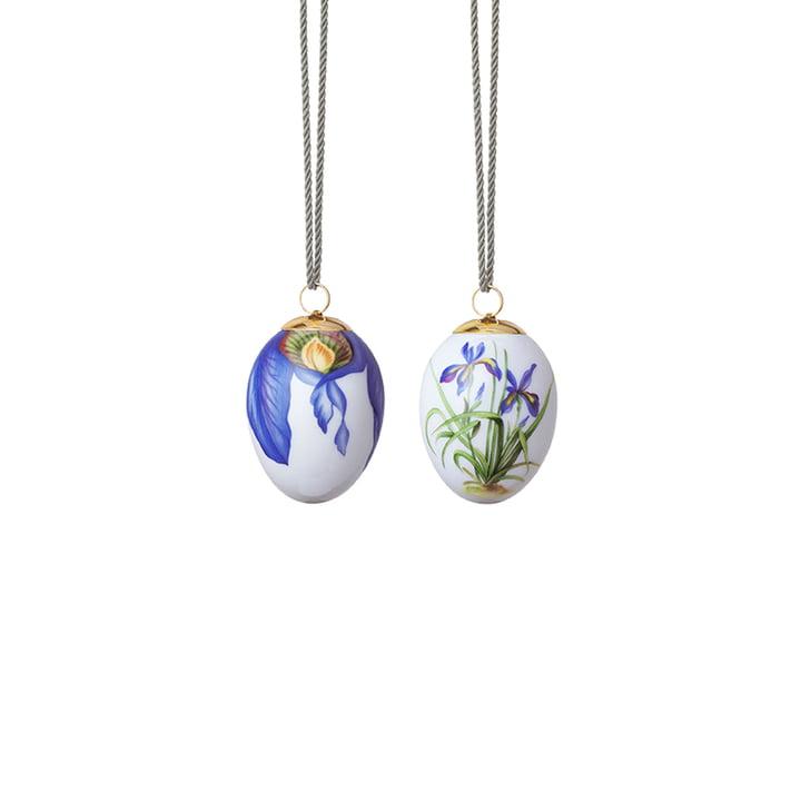 Iris & Irisblüte 6 cm von Royal Copenhagen (2er-Set)
