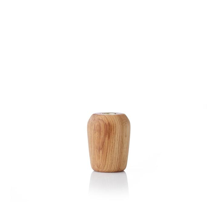 Torso Kerzenhalter 9 cm von applicata in Eiche geölt