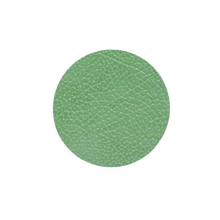 Glasuntersetzer rund Ø 10 cm, Hippo forest green von LindDNA