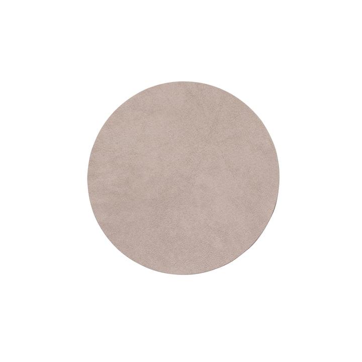 Glasuntersetzer rund Ø 10 cm, Nupo nomad grey von LindDNA