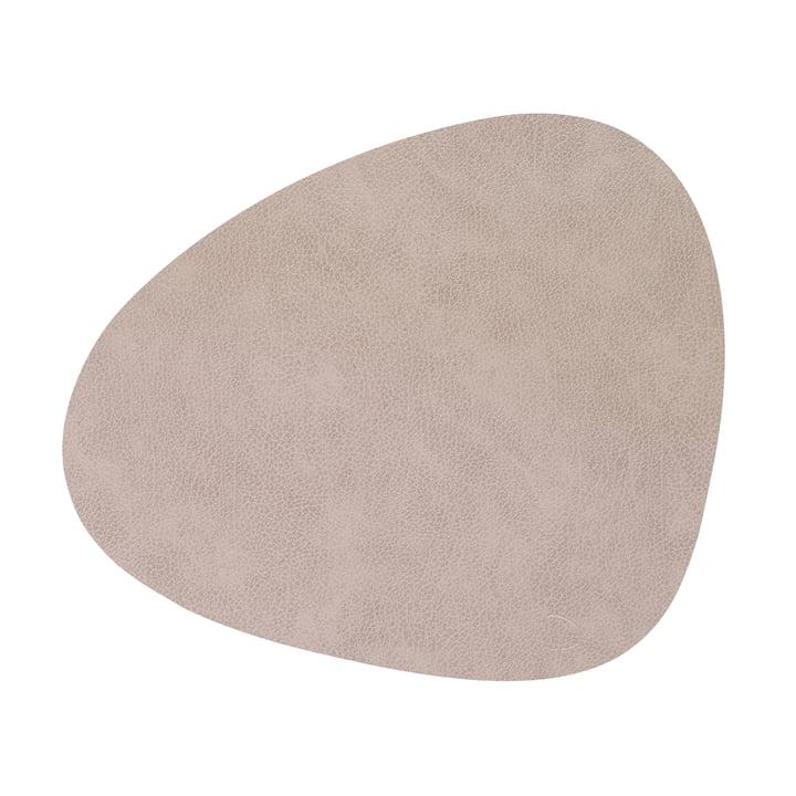 Tischset Curve L, Bull warm grey von LindDNA