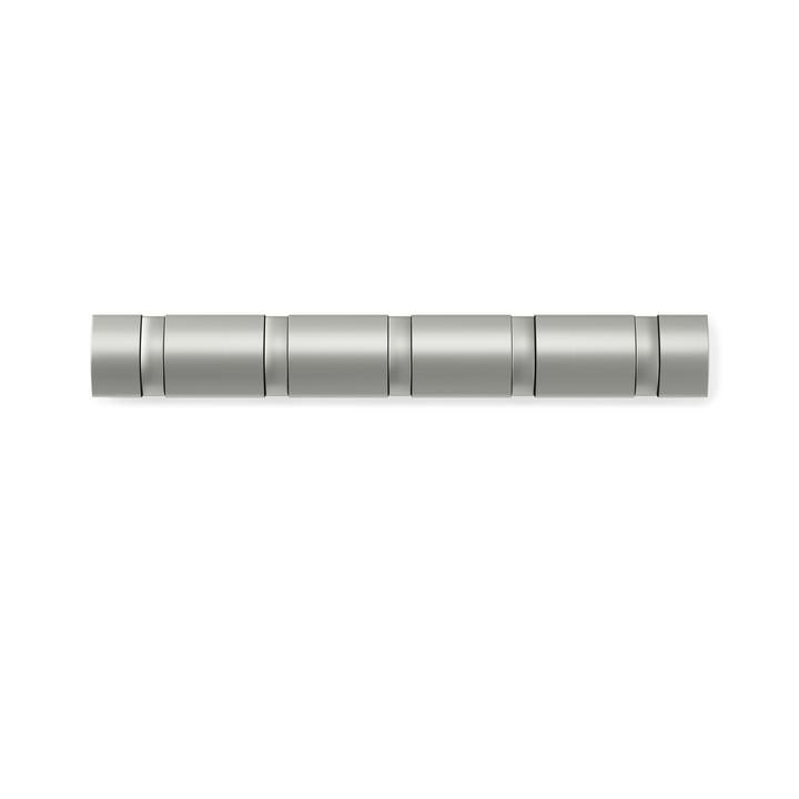 Flip Hook 5er Garderobenleiste von Umbra in Nickel