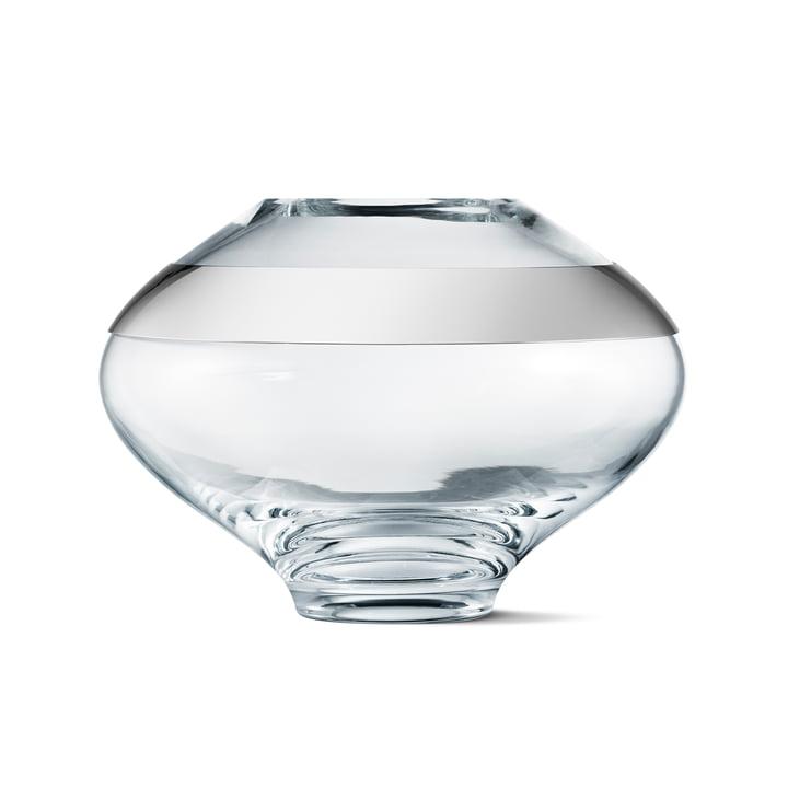 Duo Vase, medium von Georg Jensen