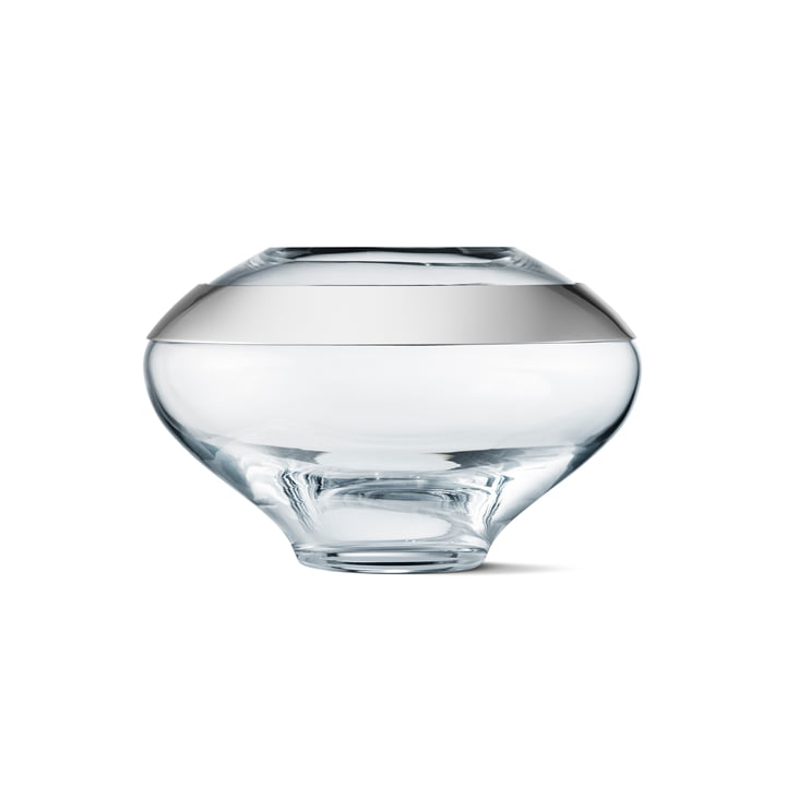 Duo Vase, small von Georg Jensen