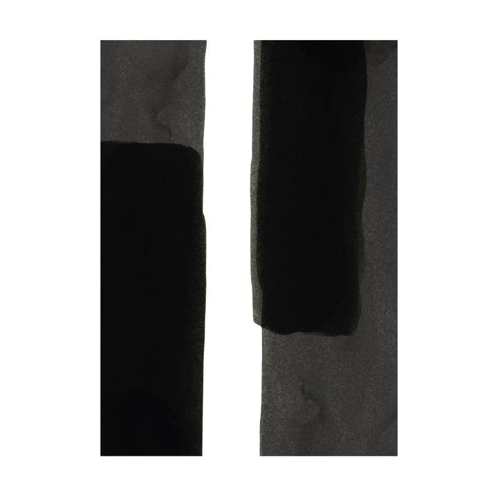 Enso Black I Poster, 50 x 70 cm von Paper Collective