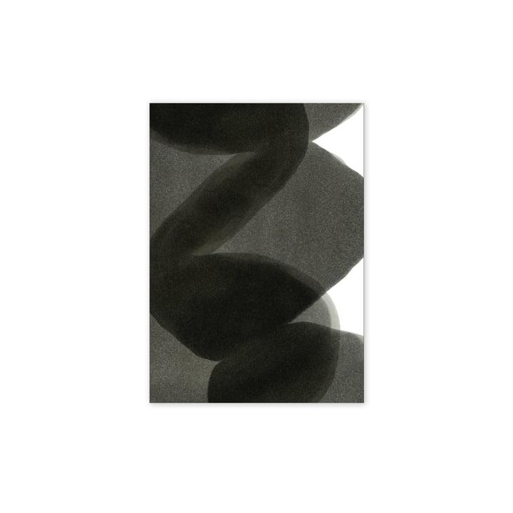 Enso Black II Poster, 30 x 40 cm von Paper Collective