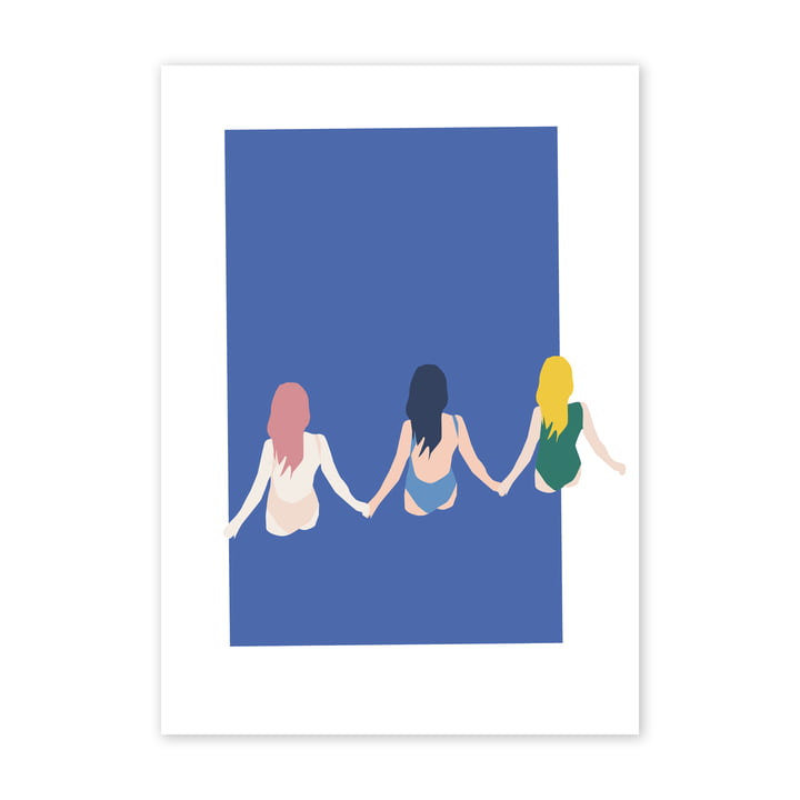 Girls Poster, 50 x 70 cm von Paper Collective
