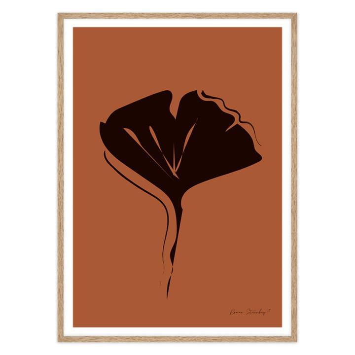 Art Print mit schwarzem Blatt von Rowan Sterenberg
