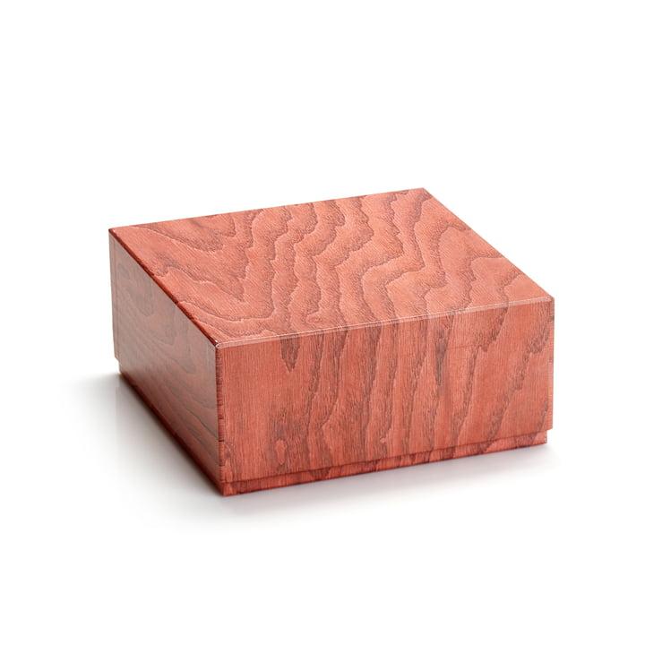 Aufbewahrungsbox 20 x 9,5 cm von applicata in terrakotta