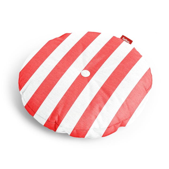 Circle Sitzauflage Ø 50 x 4 cm von Fatboy in rot gestreift
