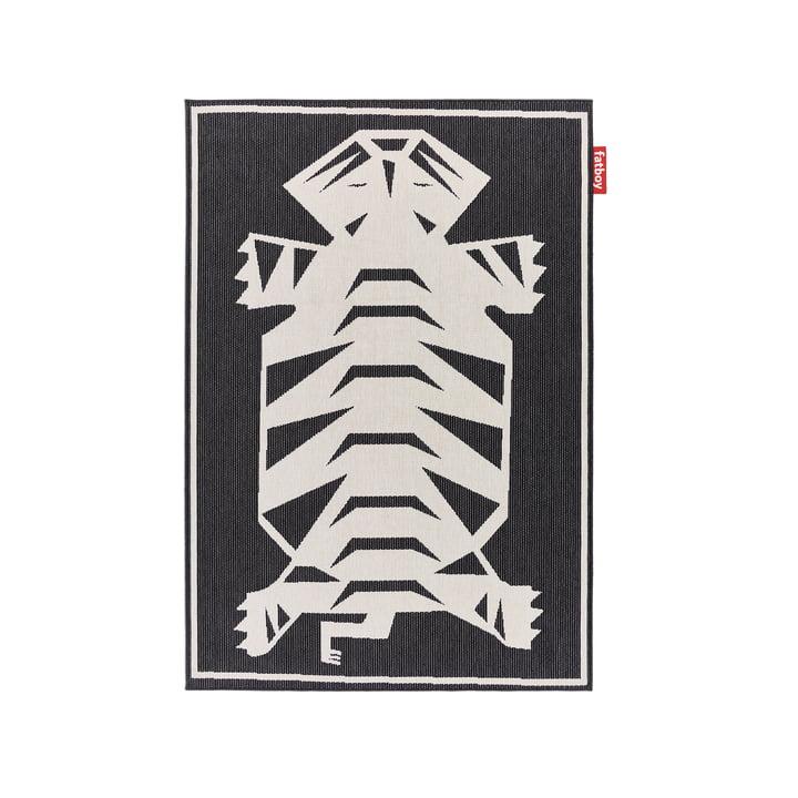 Carpretty Petit Nottazebroh Outdoor-Teppich 160 x 230 cm von Fatboy in schwarz