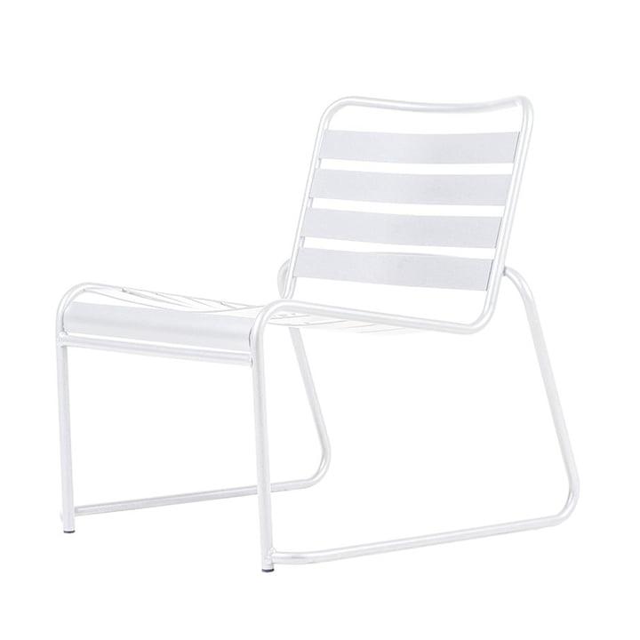Lido Metall Lounge-Sessel von Fiam in weiß