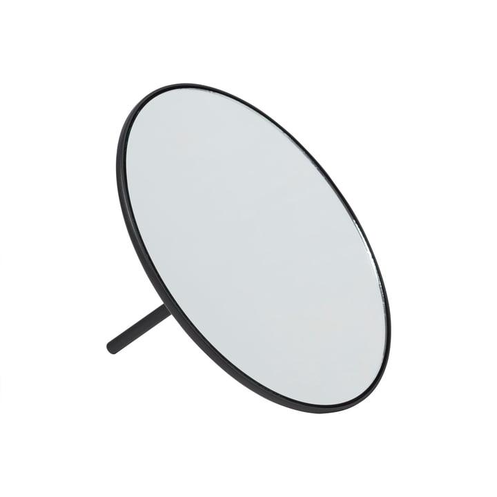 IO Tischspiegel Ø 18 cm von Gejst in schwarz