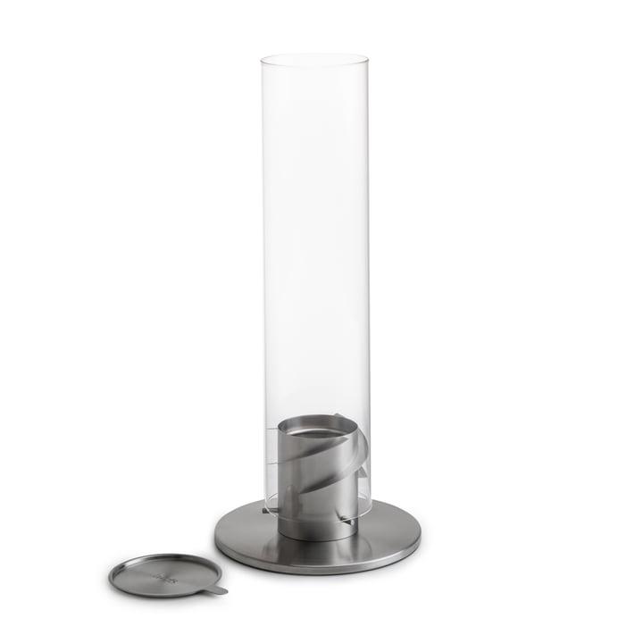 Spin Tischfeuer 120, silber von höfats