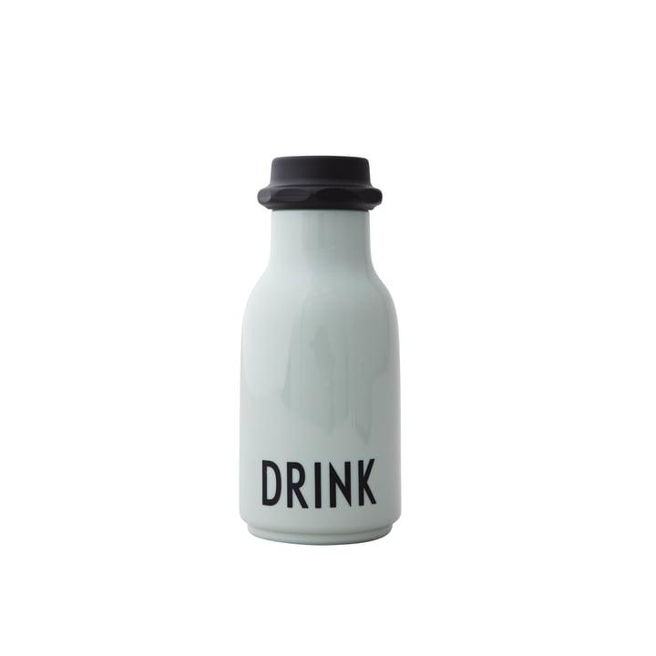 Kids Wasserflasche 0,33 l, Drink / grün von Design Letters