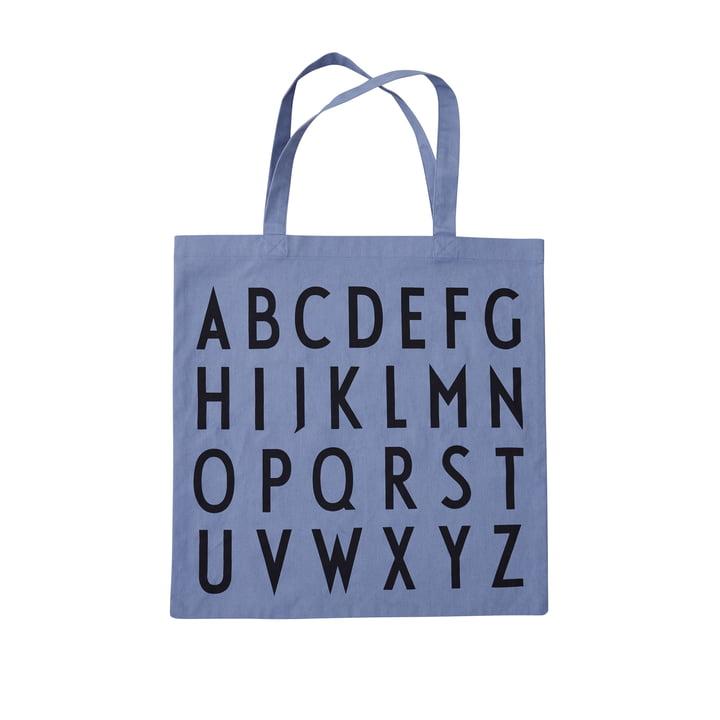 AJ Favourite Tragetasche, ABC / blau von Design Letters