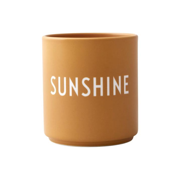 AJ Favourite Porzellan Becher, Sunshine von Design Letters