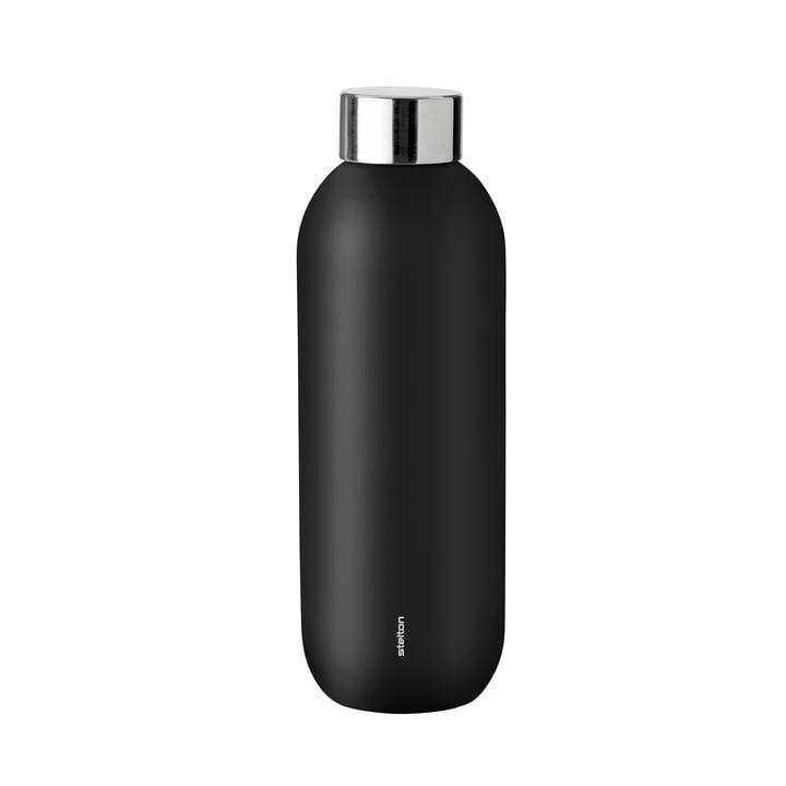 Keep Cool Trinkflasche 0,6 l von Stelton in schwarz