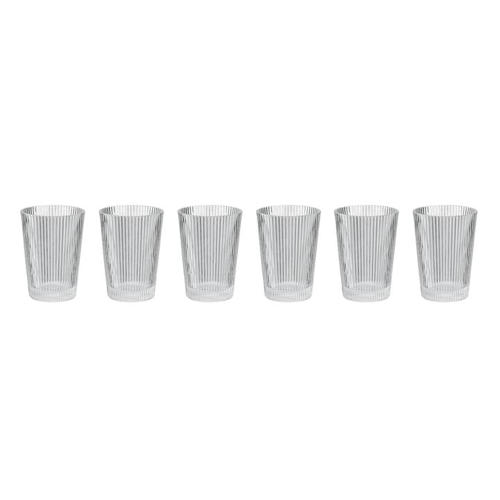 Pilastro Trinkglas (6er-Set) von Stelton