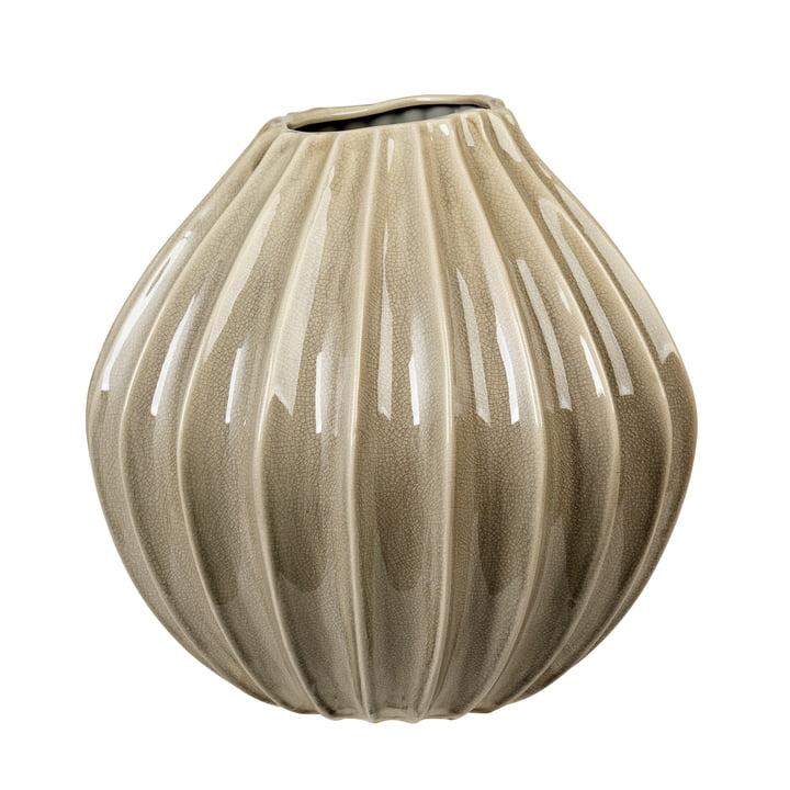 Wide Vase, Ø 40 x H 40 cm, rainy day von Broste Copenhagen