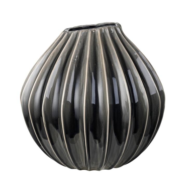Wide Vase, Ø 40 x H 40 cm, smoked pearl von Broste Copenhagen
