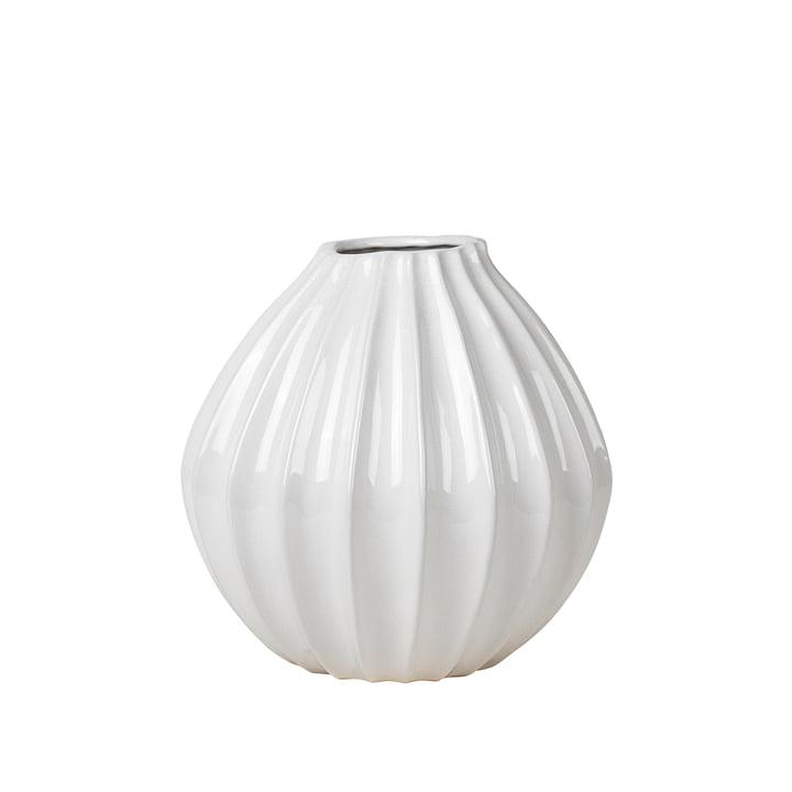 Wide Vase, Ø 30 x H 30 cm, ivory von Broste Copenhagen