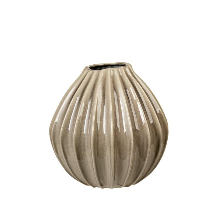 Wide Vase, Ø 30 x H 30 cm, rainy day von Broste Copenhagen