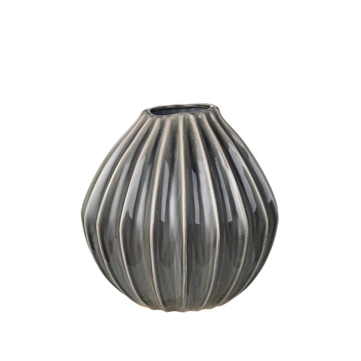 Wide Vase, Ø 30 x H 30 cm, smoked pearl von Broste Copenhagen