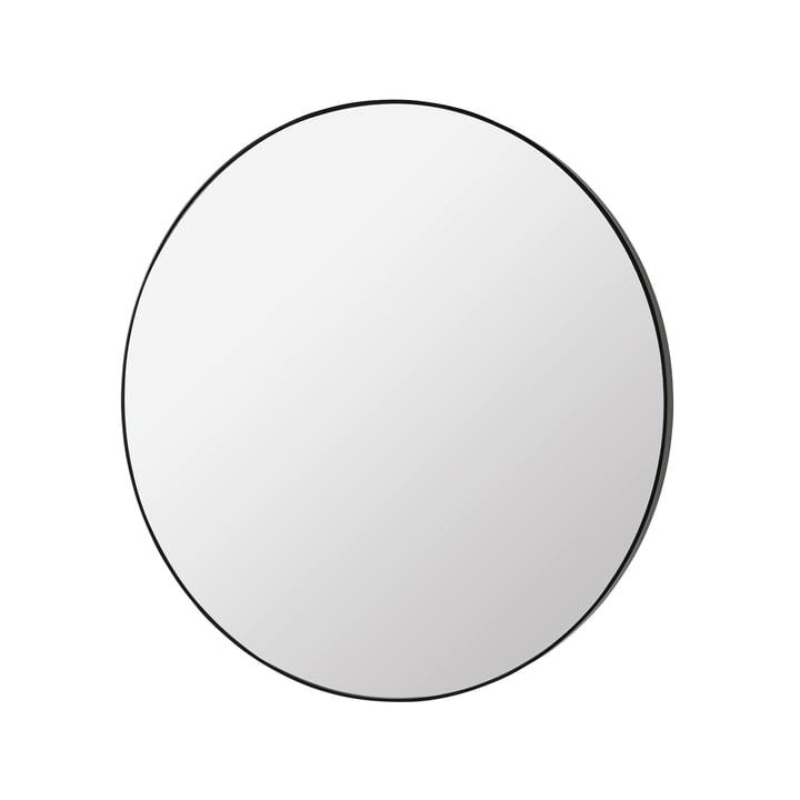 Complete Spiegel Ø 80 cm, schwarz von Broste Copenhagen