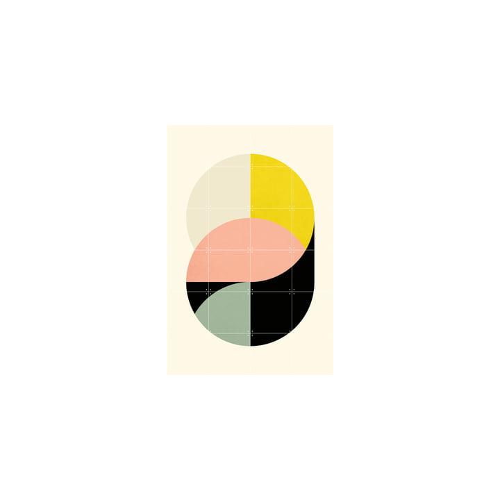 Circles Poster von IXXI in 80 x 120 cm