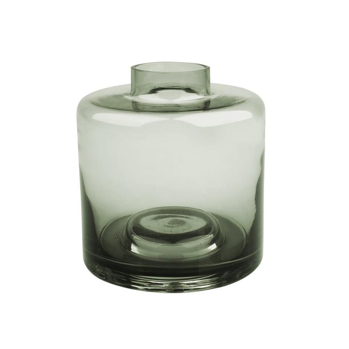 Stackable Vase Ø 14 x H 15 cm, graugrün von Connox Collection