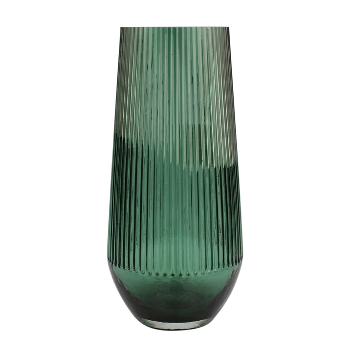 Classic Vase Ø 14,5 x H 29 cm, grün von Connox Collection