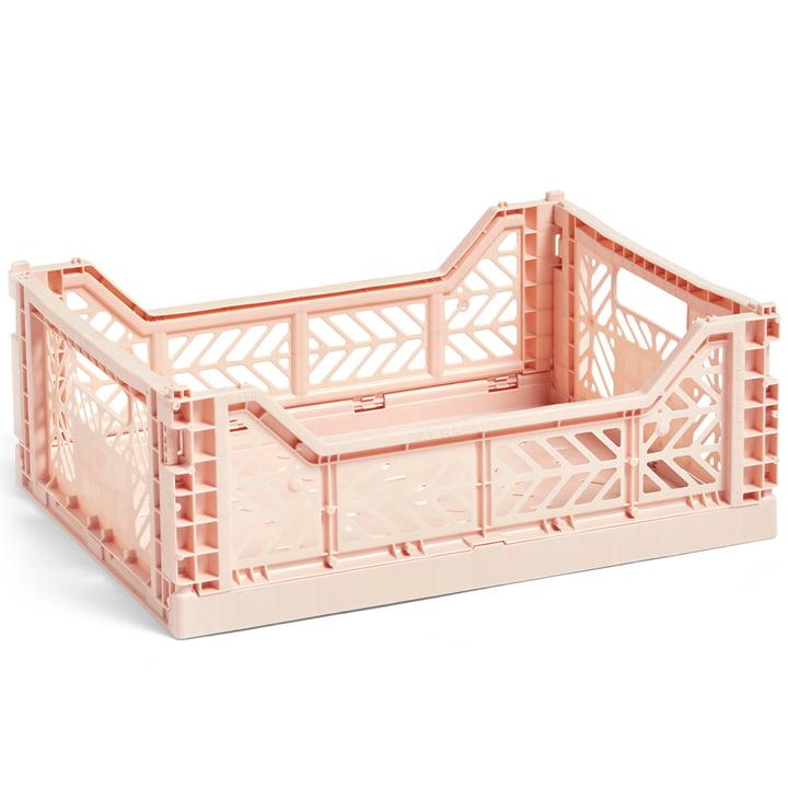 Colour Crate Korb M 40 x 30 cm von Hay in nude