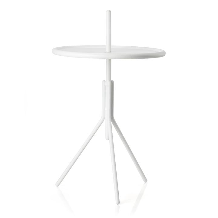 Inu Beistelltisch Ø 33,8 x H 54,5 cm von Zone Denmark in weiß