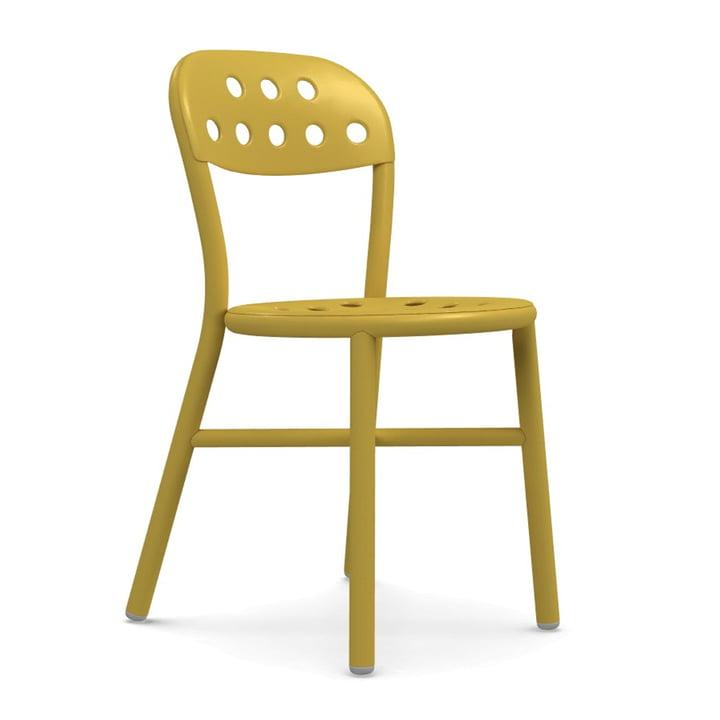 Pipe Stuhl von Magis in senf