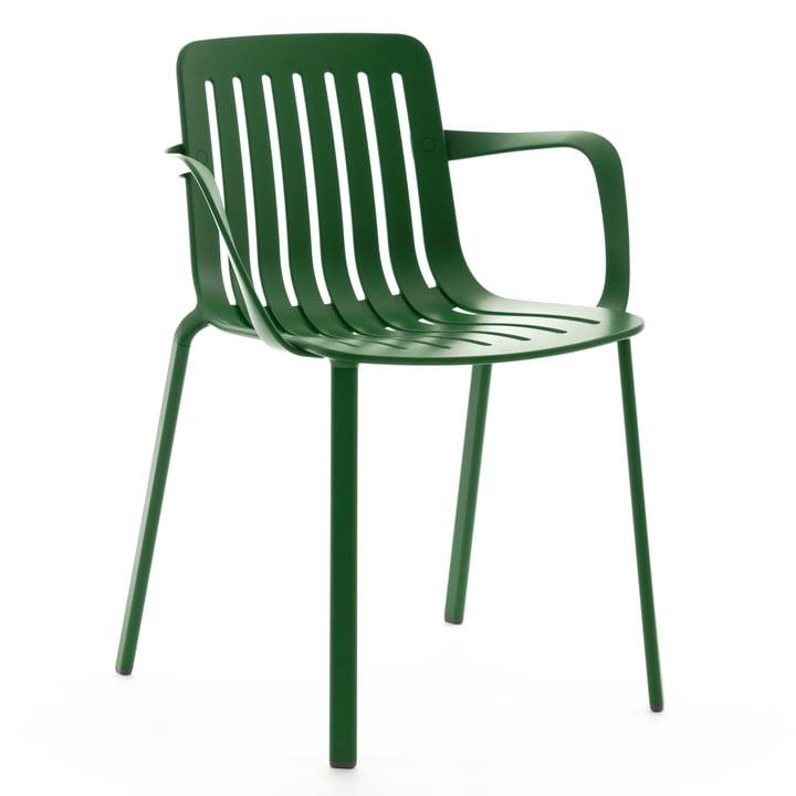 Plato Armlehnstuhl von Magis in grün