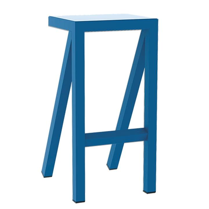 Bureaurama Küchen-Hocker H 62 cm von Magis in blau