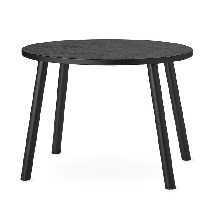 Mouse Kindertisch oval 64 x 46 cm von Nofred in schwarz