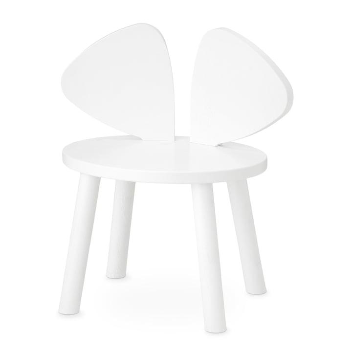 Mouse Kinderstuhl von Nofred in weiß