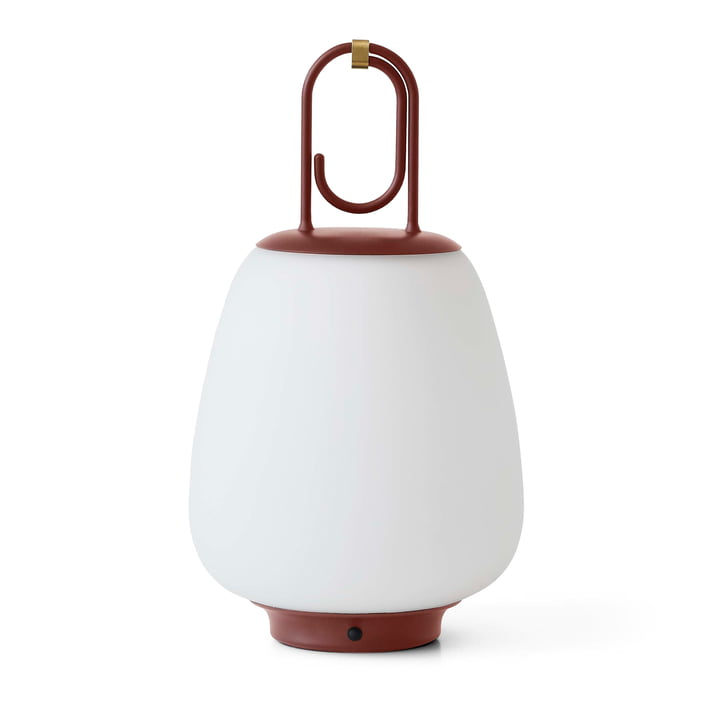 Lucca SC51 Portable Akku LED Outdoor-Leuchte von &tradition in maroon
