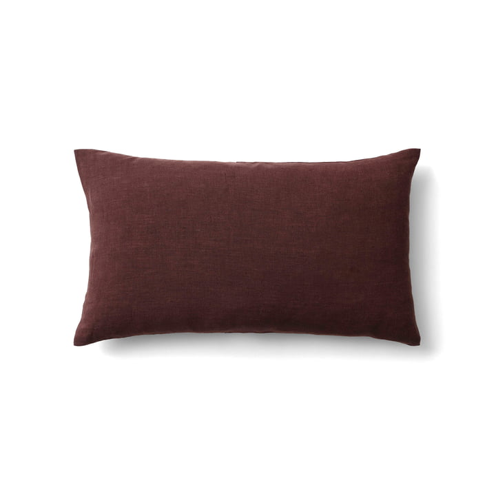 Collect SC30 Kissen Leinen 30 x 50 cm von &tradition in burgundy
