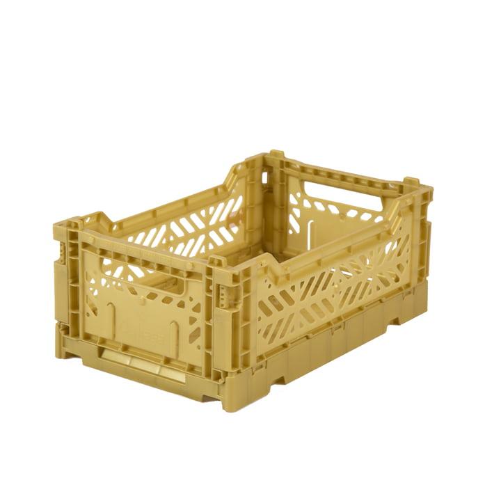 Faltkiste Mini 27 x 17 cm von Aykasa in gold
